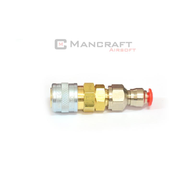 QD Fitting - standard US (foster 22) 4mm