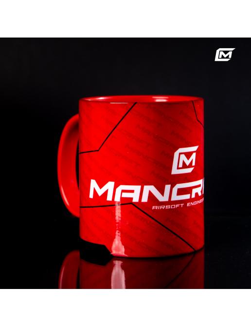 Genuine Mancraft airsoft mug with logo Red
