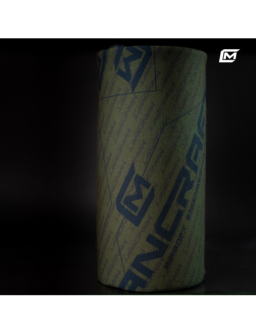 Seamless chimney scraft with Mancraft logo.