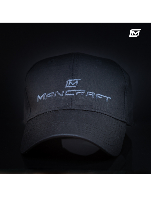 Genuine Mancraft ripstop hat with logo.