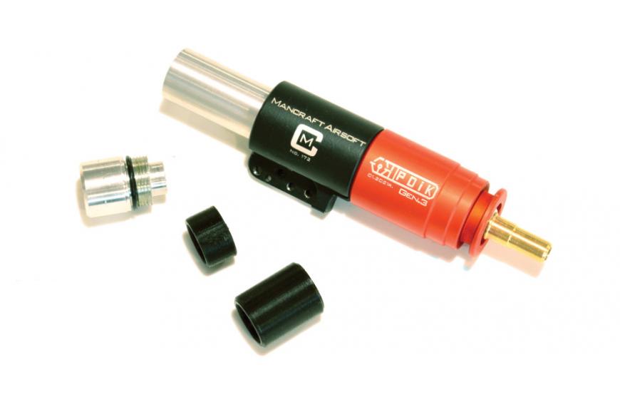 PDiK V2 Gen.3 gas reduction